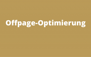Offpage-Optimierung