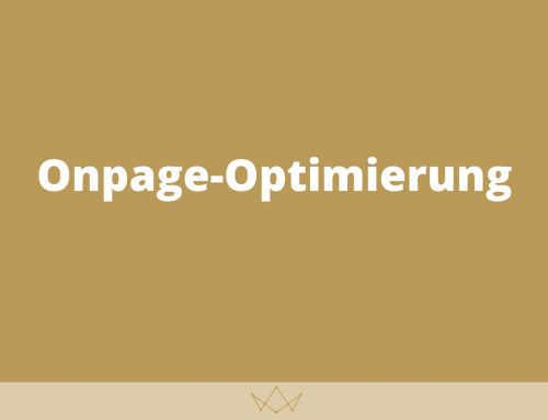 Onpage-Optimierung