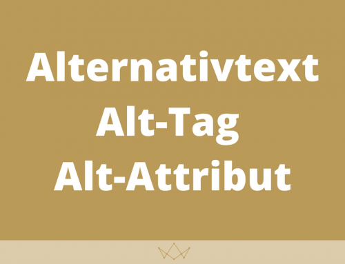 Alternativtext / Alt-Tag