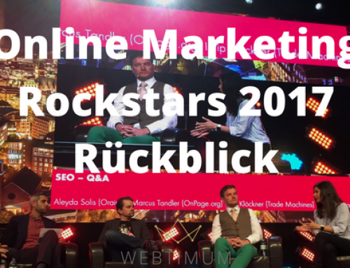 Die Online Marketing Rockstars 2017