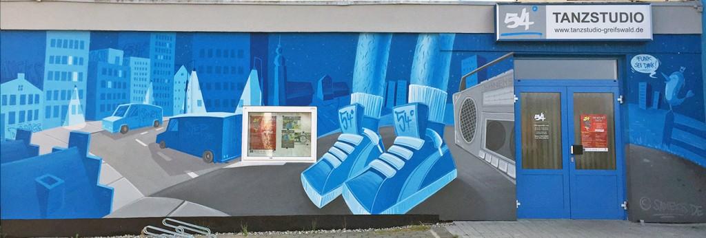 Saneks Wandgestaltung in Greifswald