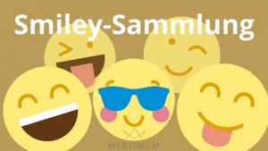 Facebook-Smileys & Emojis zum Kopieren