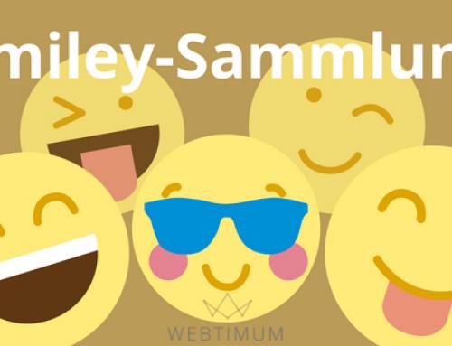 Facebook-Smileys, Emojis & Sonderzeichen zum Kopieren