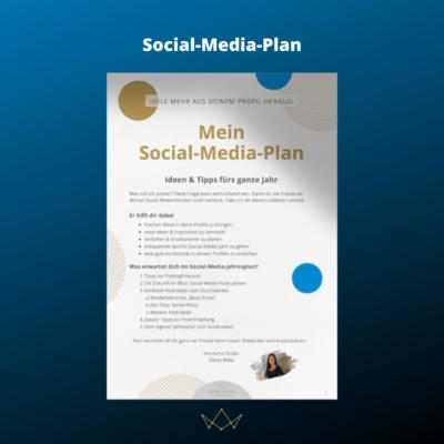 Social-Media-Plan WEBTIMUM Produktbild