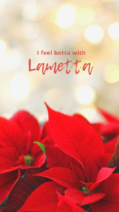 WEBTIMUM Wallpaper Dezember Handy I feel betta with Lametta