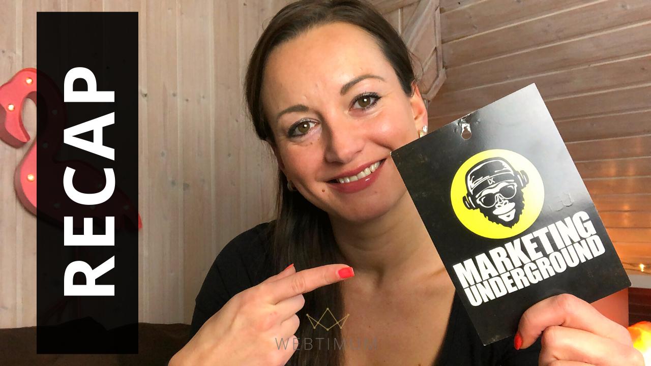 Marketing Underground 2019 in Berlin Recap, Learnings, Tipps VLOG