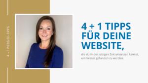 4+1 Website-Tipps, die du während der Krise umsetzen kannst, um online besser gefunden zum werden
